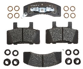 Raybestos Disc Brake Pad Set  Front