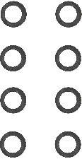 Reinz Engine Valve Stem Oil Seal Set  Intake and Exhaust