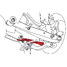 Specialty Products Suspension Control Arm and Ball Joint Assembly
