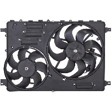 Spectra Dual Radiator and Condenser Fan Assembly