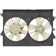 Spectra Dual Radiator and Condenser Fan Assembly  Right
