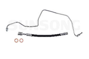 Sunsong Brake Hydraulic Hose  Rear Left Outer