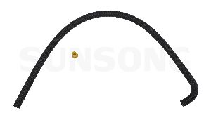 Sunsong Power Steering Return Line Hose Assembly  Gear To Cooler