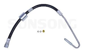 Sunsong Power Steering Pressure Line Hose Assembly  Pump To Hydroboost