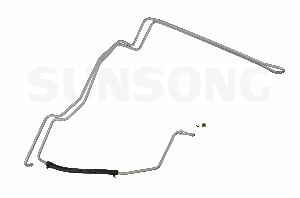 Sunsong Power Steering Return Line Hose Assembly  From Gear