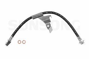 Sunsong Brake Hydraulic Hose  Front Left