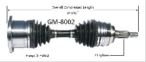 Surtrak Axle CV Axle Shaft  Front Left