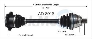 Surtrak Axle CV Axle Shaft  Front Right