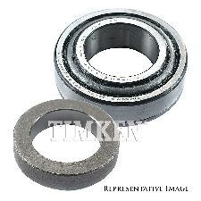 Timken Wheel Bearing and Race Set  Rear