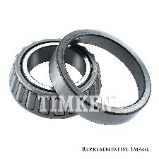 Timken Differential Pinion Bearing  Rear Outer