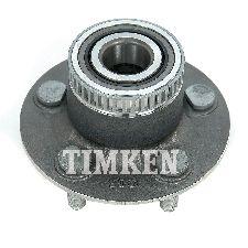 Timken Wheel Bearing and Hub Assembly  Rear