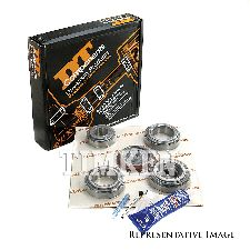 Timken Axle Differential Bearing and Seal Kit  Front