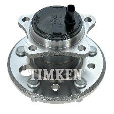 Timken Wheel Bearing and Hub Assembly  Rear Left