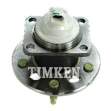 Timken Wheel Bearing and Hub Assembly  Rear