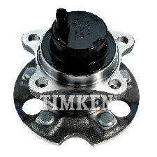 Timken Wheel Bearing and Hub Assembly  Rear Right