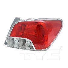 TYC Products Tail Light Assembly  Right