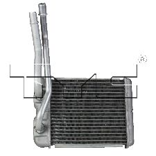 TYC Products HVAC Heater Core  Rear