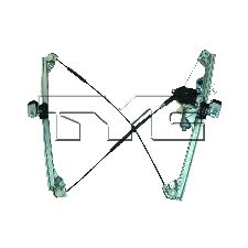 TYC Products Power Window Motor and Regulator Assembly  Front Right