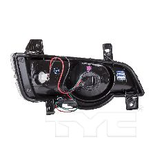 TYC Products Turn Signal / Parking Light Assembly  Front Left