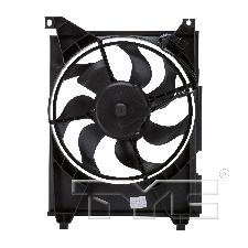 TYC Products A/C Condenser Fan Assembly