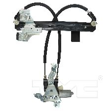 TYC Products Power Window Motor and Regulator Assembly  Rear Left