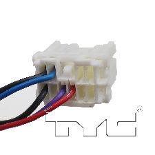 TYC Products Door Mirror  Right