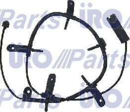 URO Parts Disc Brake Pad Wear Sensor  Front