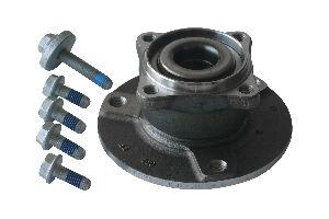 Vaico Wheel Bearing and Hub Assembly  Rear