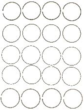 Victor Gaskets Engine Piston Ring Set