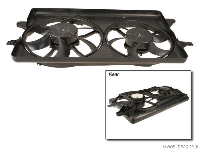 Motorcraft Engine Cooling Fan Assembly