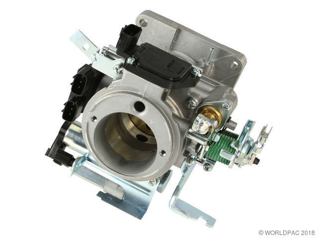 1998 Nissan Frontier Fuel Injection Throttle Body Hitachi - Assembly
