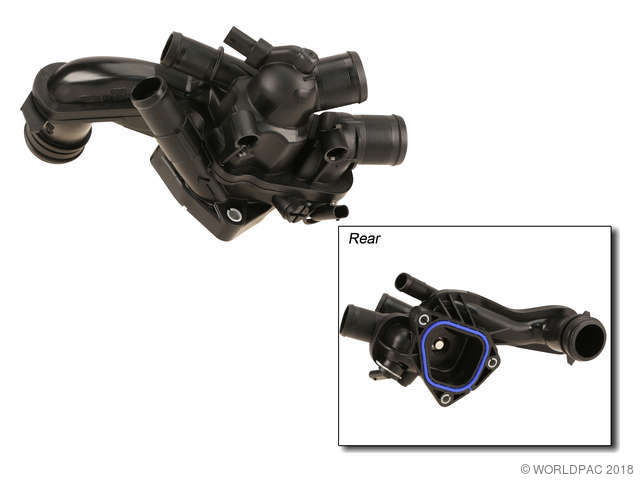 Mahle Engine Coolant Thermostat / Water Outlet Assembly