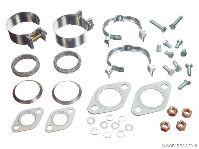 HJS Exhaust Pipe Installation Kit