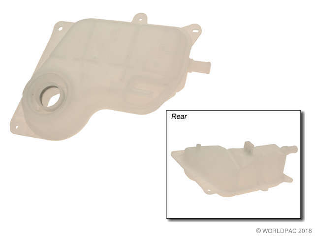Original Equipment Engine Coolant Reservoir