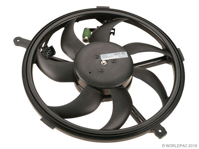 Behr Engine Cooling Fan Assembly