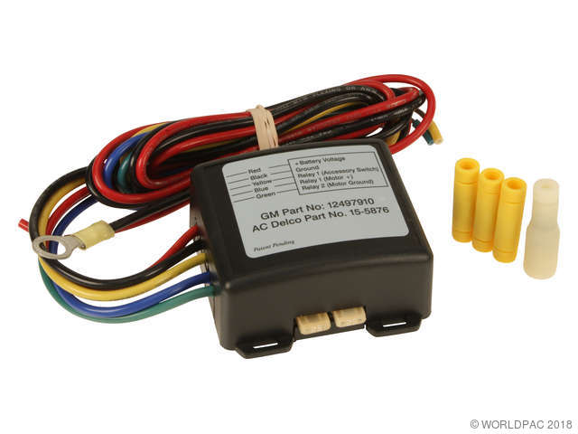 ACDelco HVAC Blower Motor Delay Module Kit