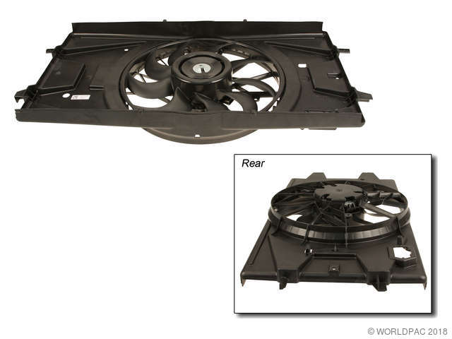 ACDelco Engine Cooling Fan Assembly