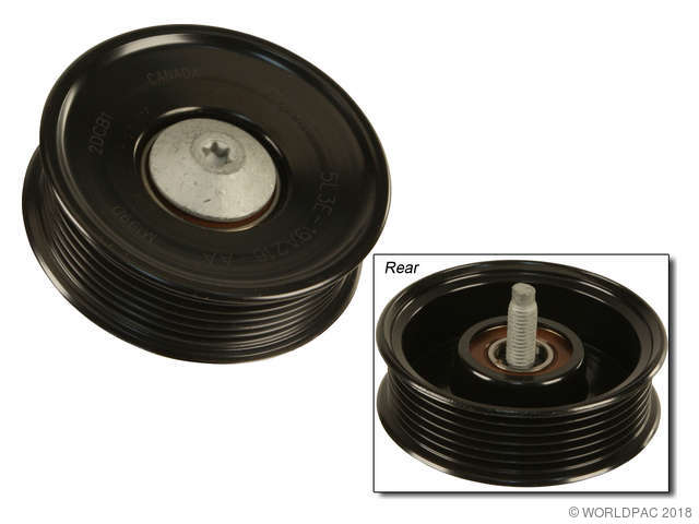 Motorcraft Accessory Drive Belt Idler Pulley