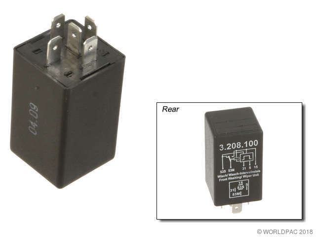 Kaehler Germany Windshield Wiper Motor Relay