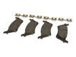 Advics Disc Brake Pad Set