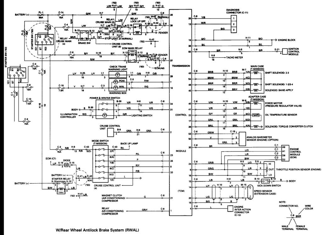 1992 isuzu trooper wiring diagram   33 wiring diagram