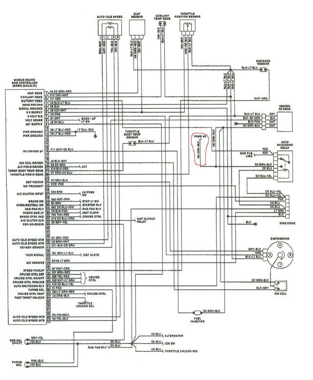 Dodge Fuel Pump: 1988 Dodge Ramcharger Fuel Injection Wiring Diagram At Bitobe.net
