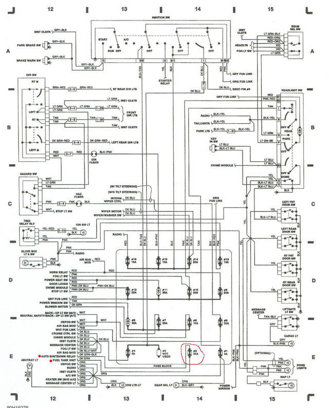 gas station wiring diagram