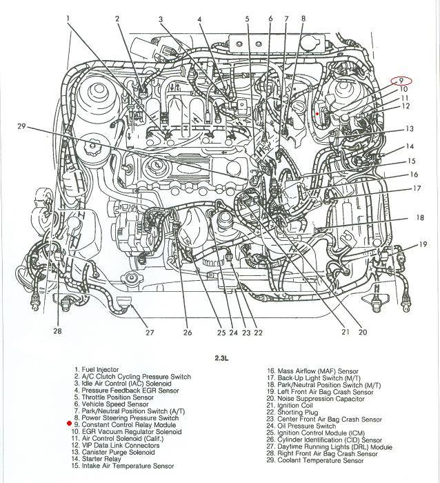 1992 ford tempo engine diagram all wiring diagram Ford F-150 Radio Wiring Diagram