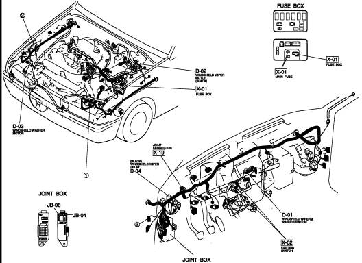 service manual  how to change wipe motor of 2008 mazda