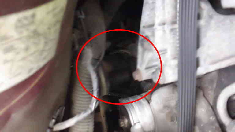 Buick Century Leaking Black Goop Under Engine D F E Ea A A D C on Buick 3800 Engine Fuel Pump