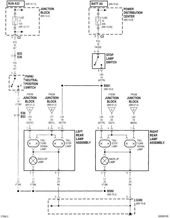 Plymouth Voyager Turn Signal Wiring Diagram Plymouth
