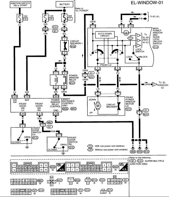 1997 nissan quest cluster wiring diagram   40 wiring diagram images
