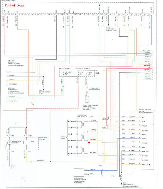 ford rh carjunky com Ford Ignition Control Module Wiring Diagram Ford Ignition System Wiring Diagram