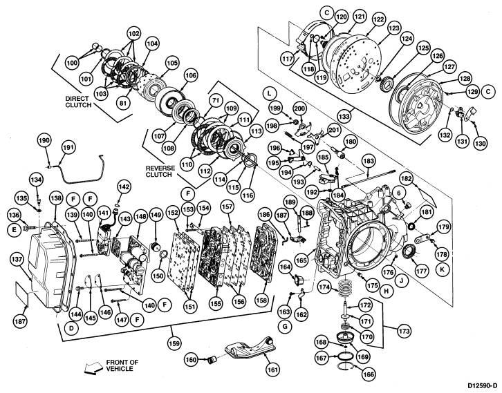 1989 mazda 626 parts diagram transmission  mazda  auto